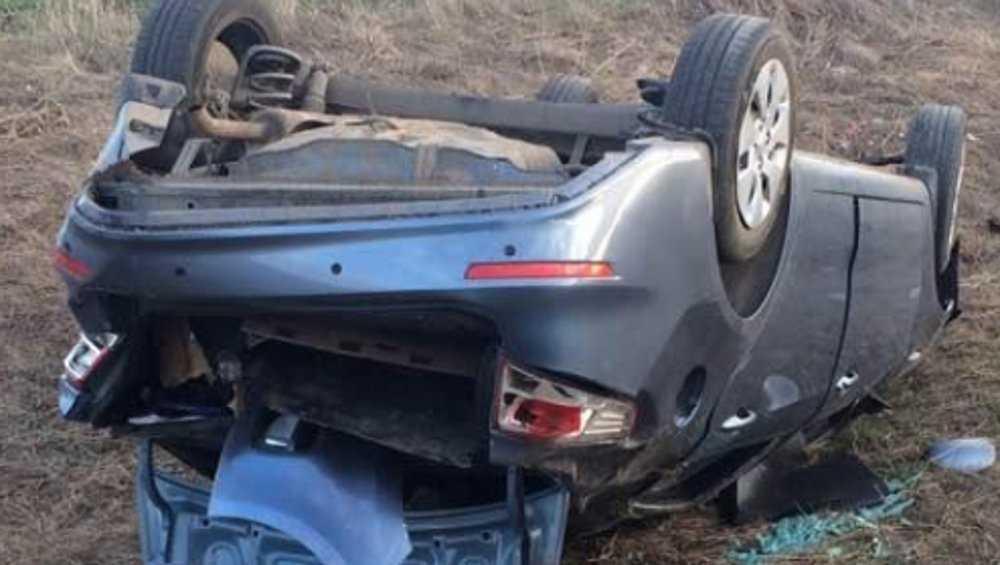 Под Трубчевском в перевернувшемся автомобиле покалечился 3-летний ребенок