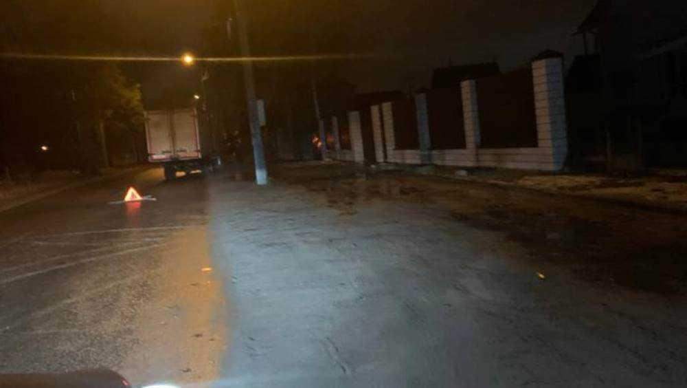 В Брянске на улице Чернышевского велосипедист попал под автомобиль