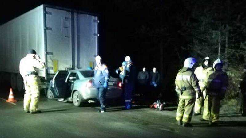 В страшном ДТП под Брянском погиб пассажир