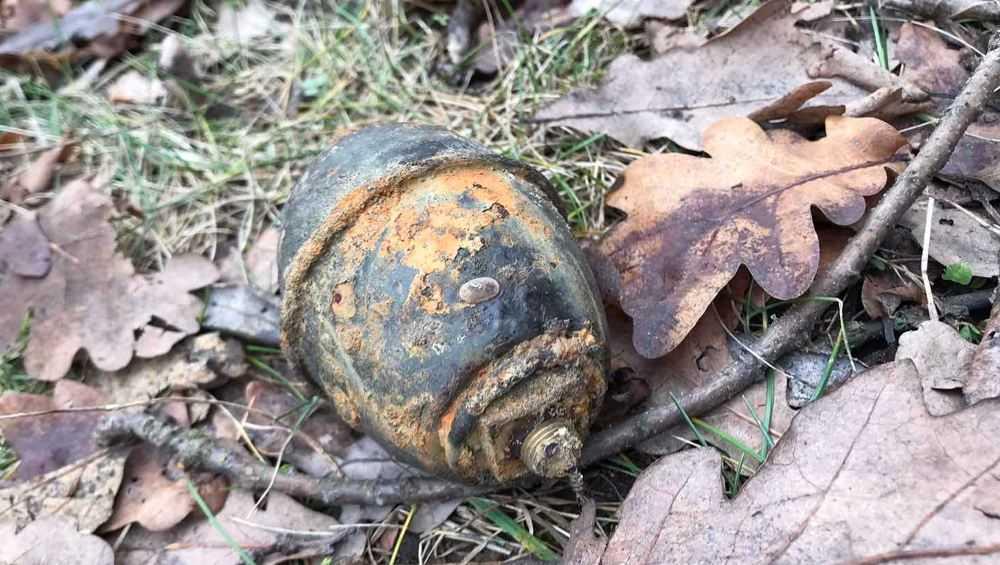 В Брянске нашли немецкую гранату