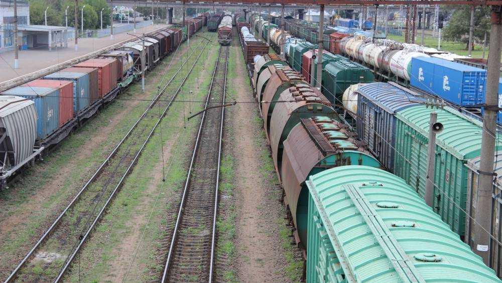 Погрузка на железной дороге в Брянской области составила более 600 тыс.тонн в январе – апреле