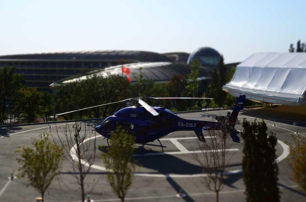 В Брянской области планируют построить 22 вертолетные площадки
