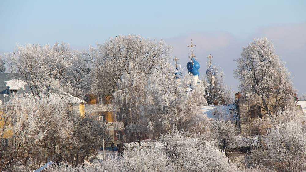 В Брянскую область ночью 16 января придет 25-градусный мороз