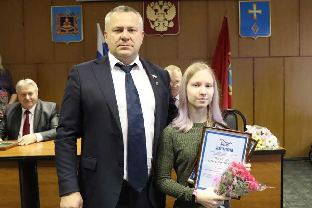 Валентин Суббот наградил победителей регионального этапа акции «Русский Крым и Севастополь»