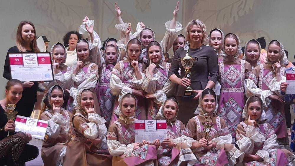 Брянский ансамбль «Каприз» триумфально станцевал в Москве