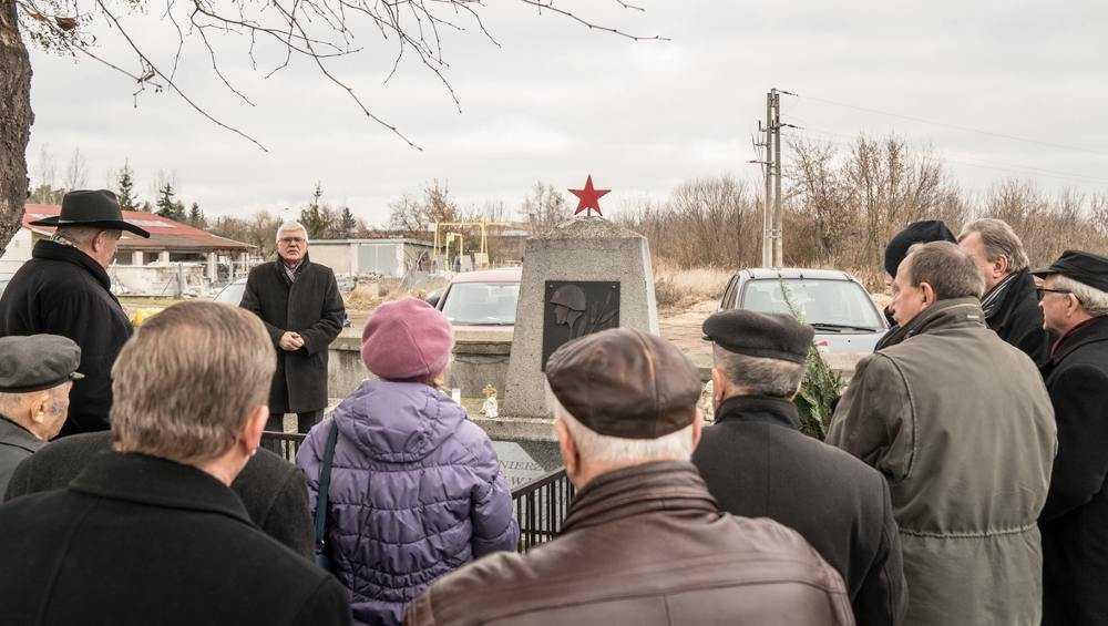 В польском побратиме Брянска отдали дань уважения советским воинам