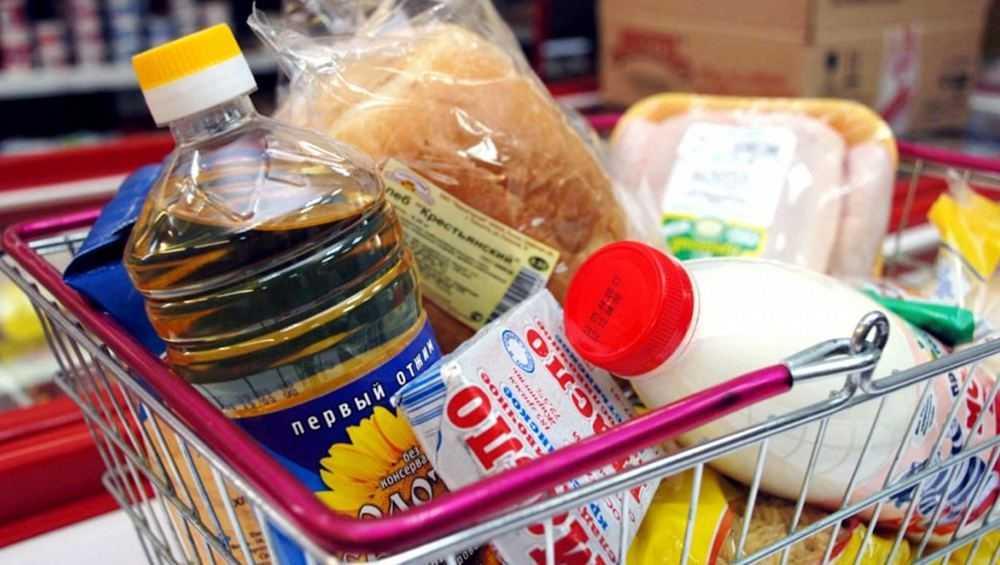 Стоимость продуктовой корзины брянцев в декабре составила 3848 рублей