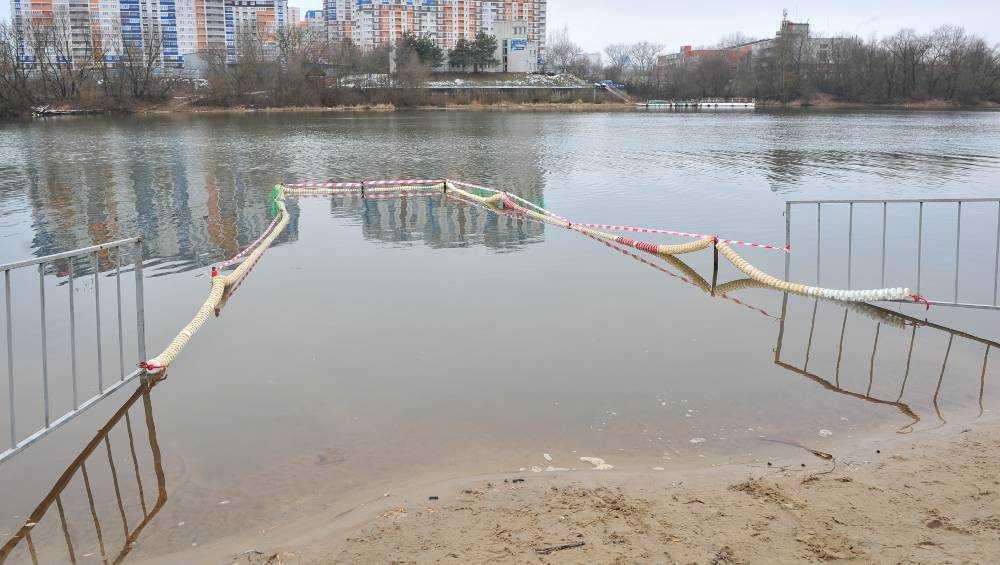 В Брянской области подготовили купели для Крещенских купаний
