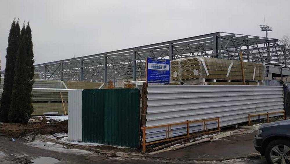 В Брянской области начали строить пять ледовых дворцов