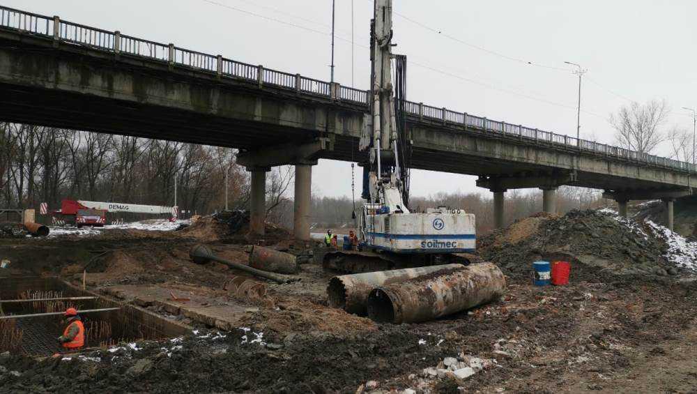 В Брянске изготовили первый ростверк для нового Литейного моста