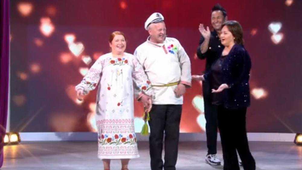 Веселая брянская певица Матрёна нашла жениха в эфире «Давай поженимся»