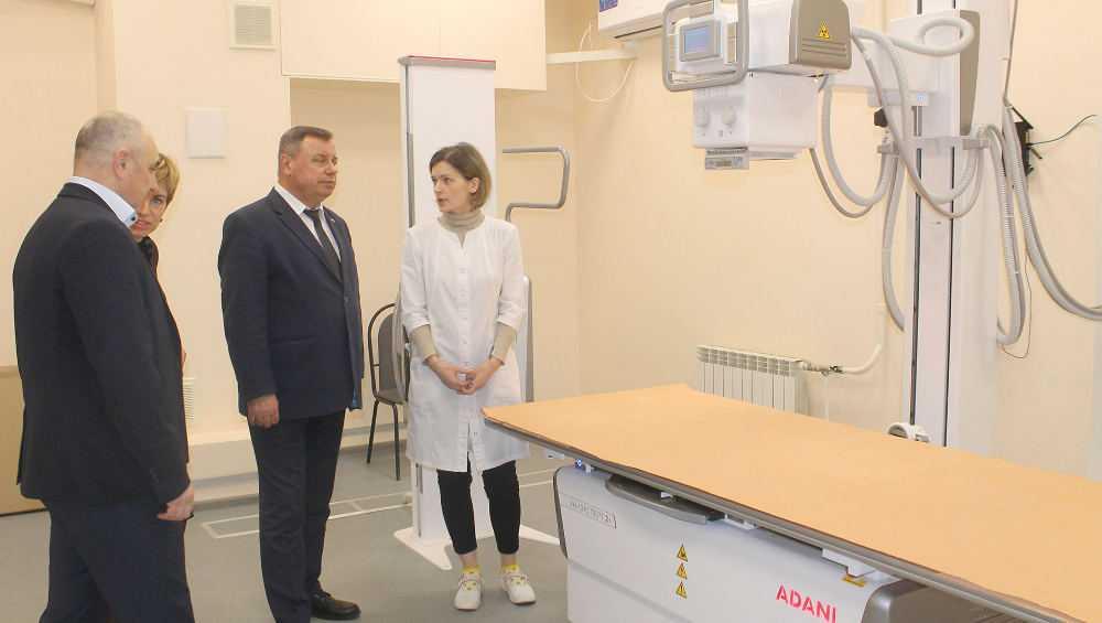 Выполнен ремонт в поликлинике № 1 города Брянска