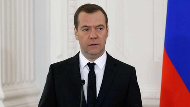 Глава правительства России Дмитрий Медведев ушел в отставку
