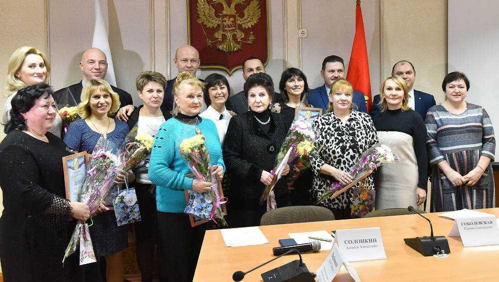 В Брянске наградили ТОСы за лучшее новогоднее украшение