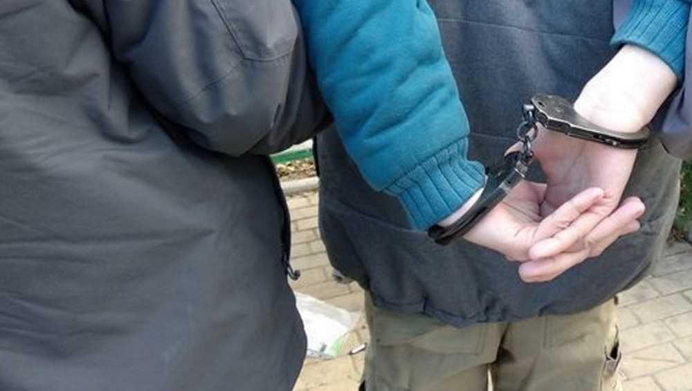 В Брянске задержали молодого наркокурьера