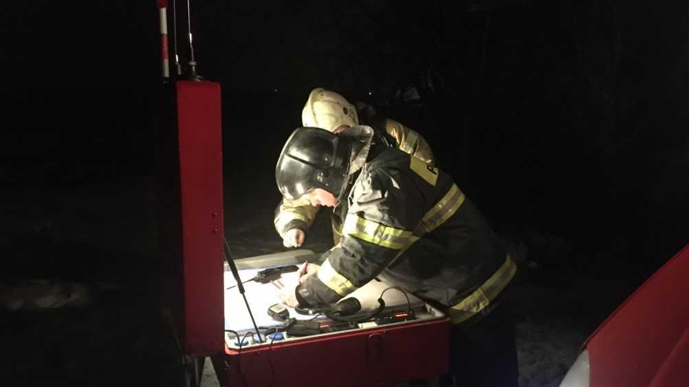 В Дятькове произошёл крупный пожар на мебельной фабрике
