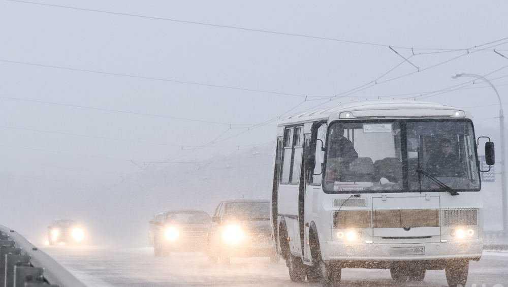 В Брянске объявили оперативное предупреждение из-за мокрого снега