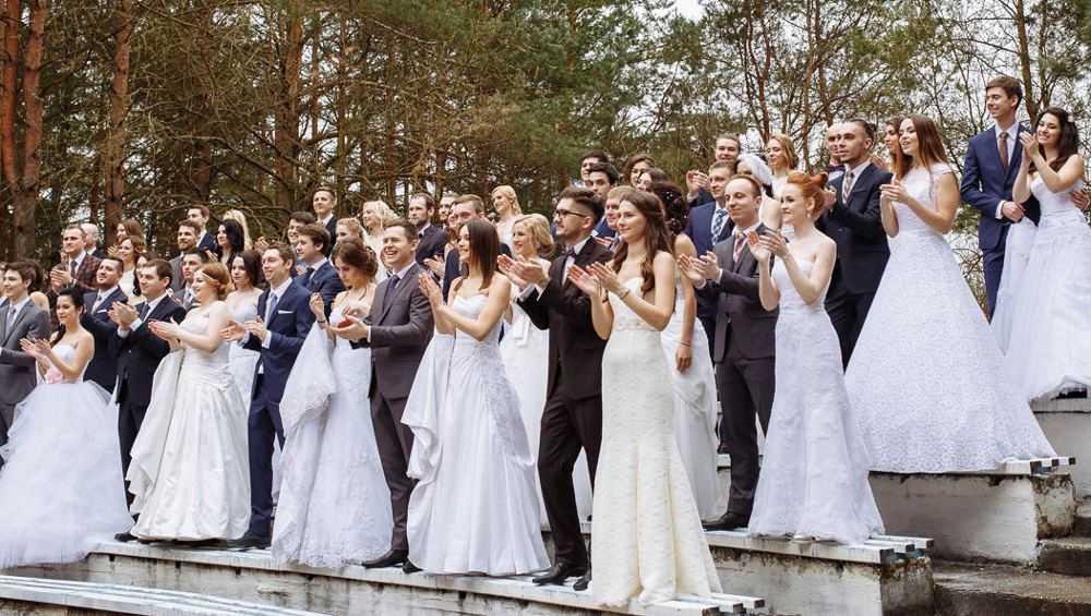 В Брянске 20 февраля произойдет свадебный бум