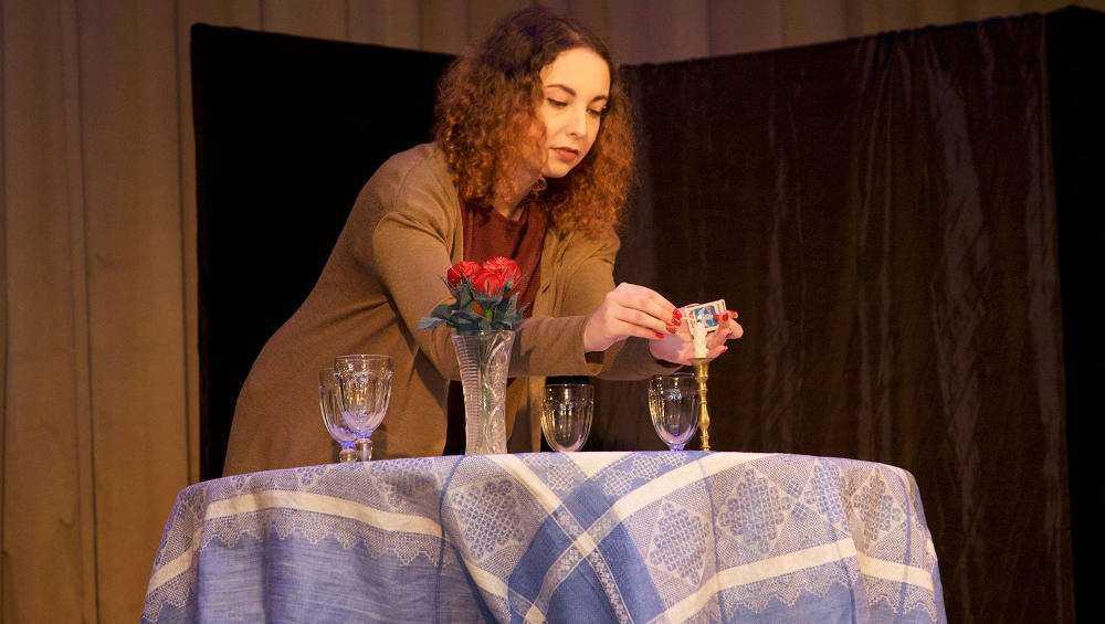 ВБрянске в память о жертвах холокоста поставили спектакль