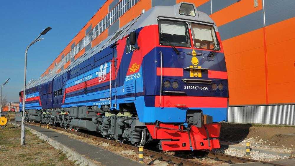 В Монголию прибыли брянские тепловозы