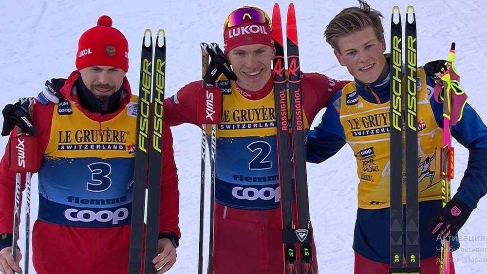 Брянский лыжник Большунов в битве за медаль проиграл троим норвежцам