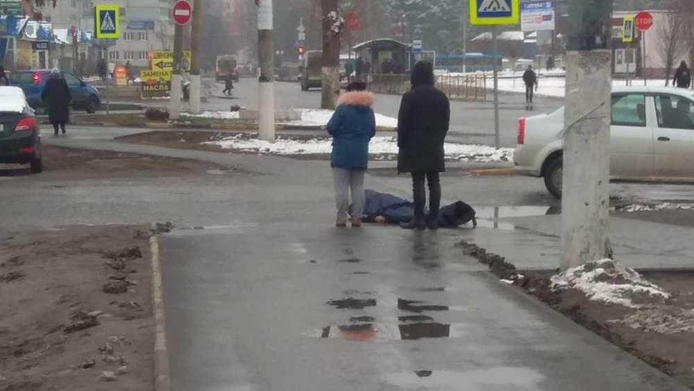 В Брянске мужчина вышел из больницы и скончался возле дороги