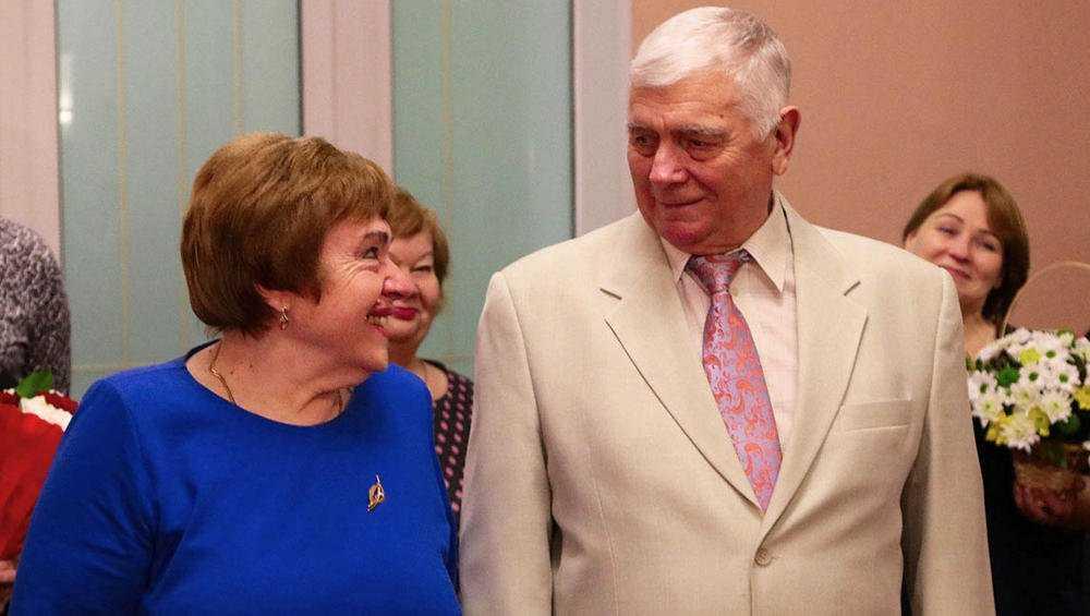 Золотую свадьбу четы Захаровых отметили в Брянске