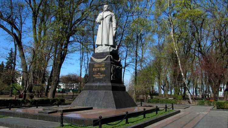 Националиста в Киеве поймали после акта вандализма