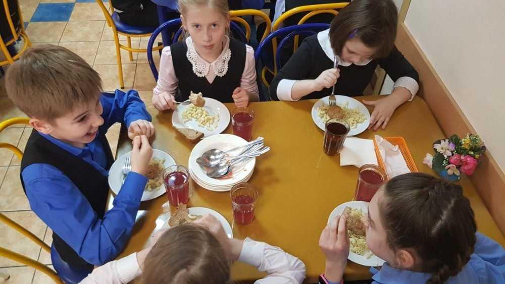 Брянские школьники начнут получать бесплатное питание в 2020 году