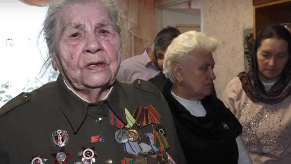 В Брянске отпраздновали 95-летие разведчицы Анны Ивановой