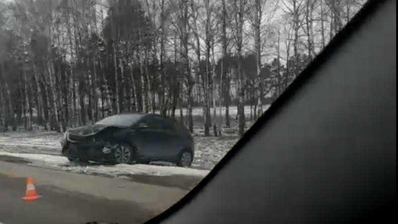 На трассе под Брянском случилась серьезная авария