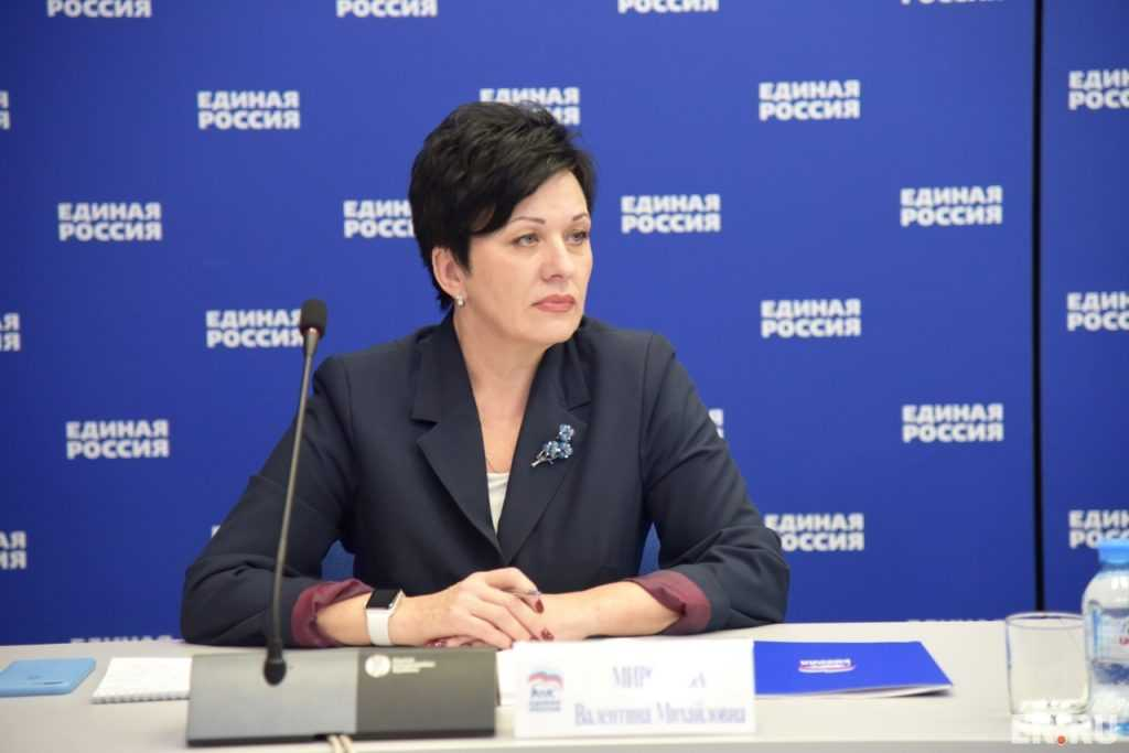 Валентина Миронова: Власть региона поддержит население в условиях пандемии