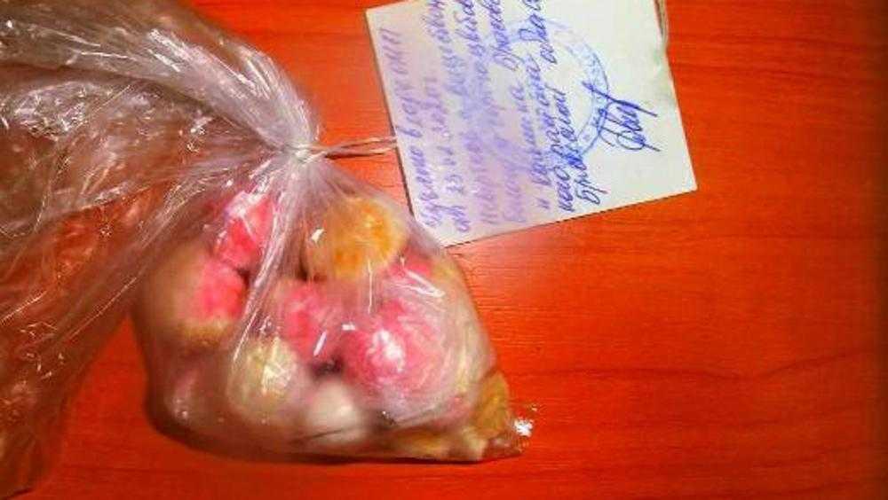 В брянскую колонию осужденным попытались доставить наркотики в арахисе