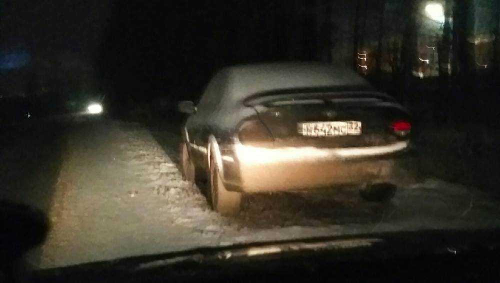 Заброшенная под Москвой брянская машина взволновала горожан