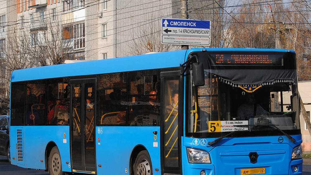 В Брянске из-за коронавируса стало меньше автобусов и маршруток