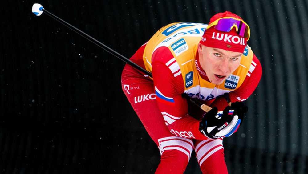 Брянский лыжник Александр Большунов взял «серебро» в гонке Кубка мира