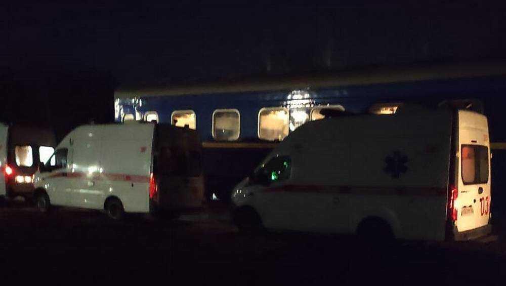 В Брянске 6 украинцев из отцепленного вагона отказались лечь в больницу