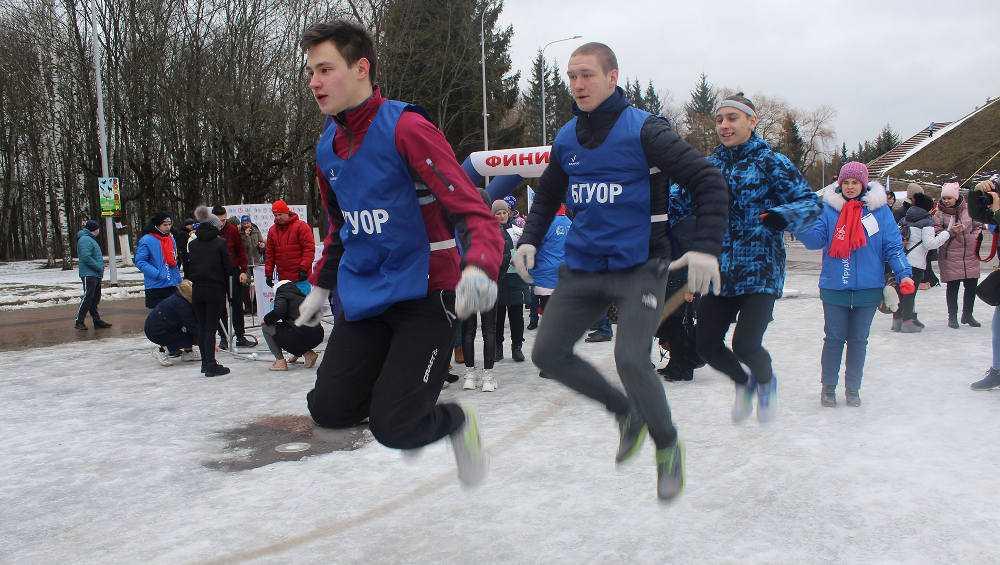 В Брянске провели День зимних видов спорта