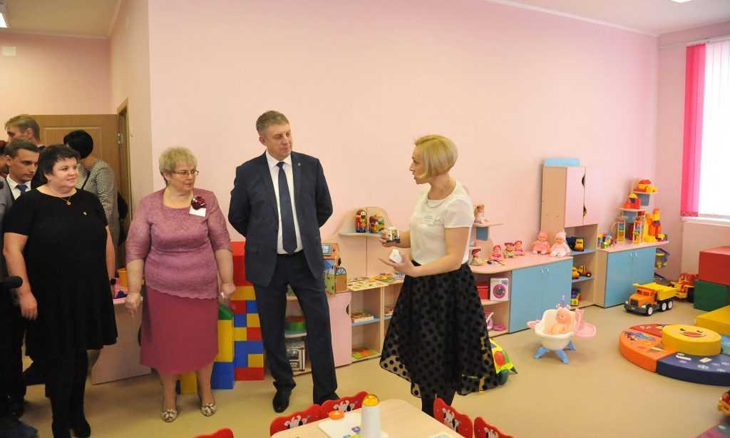 ВБрянске за год построили 16 детских садов ипристроек кним
