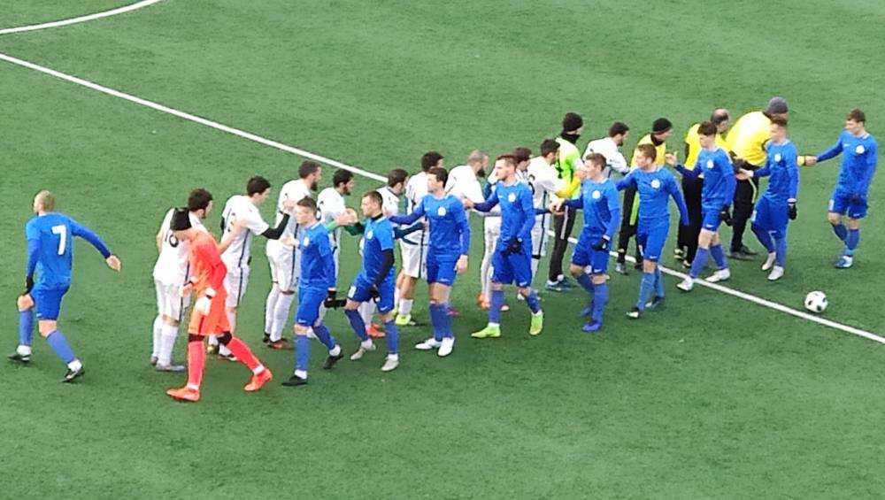 Нулевой ничьей закончился первый контрольный матч брянского «Динамо»