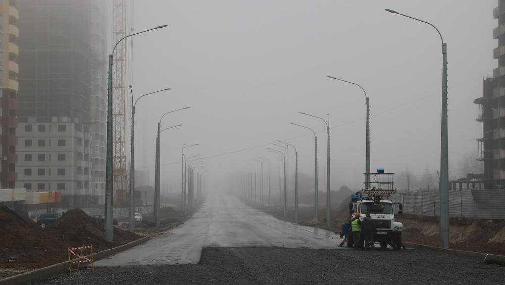 В Брянске на дороге по Советской установили 60 процентов светильников