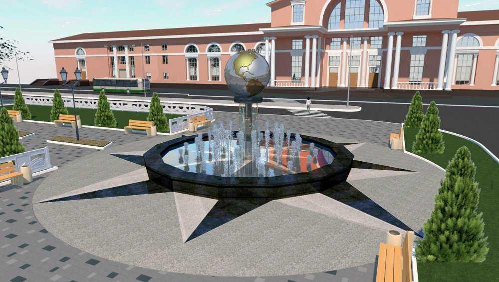 На привокзальной площади Брянска увеличат размеры сквера