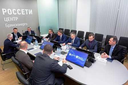 Сотрудники «Брянскэнерго» поделились опытом работы с коллегами из Белоруссии
