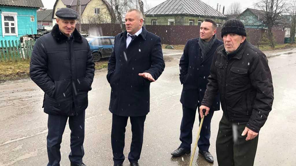 Благодаря Валентину Субботу началось решение проблемы благоустройства улицы в Брянске