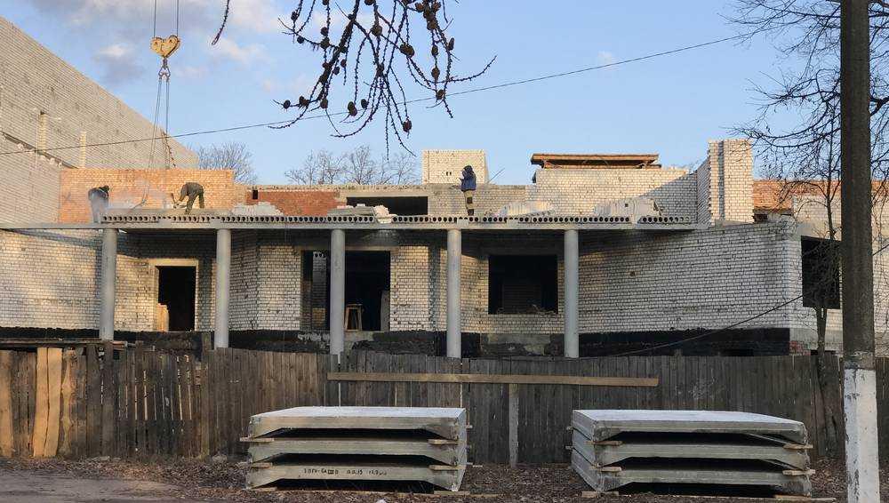 Жуковский спортивный комплекс строят и в выходные