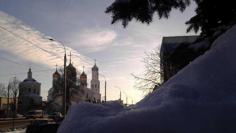В Брянской области ночью похолодает до 12 градусов мороза