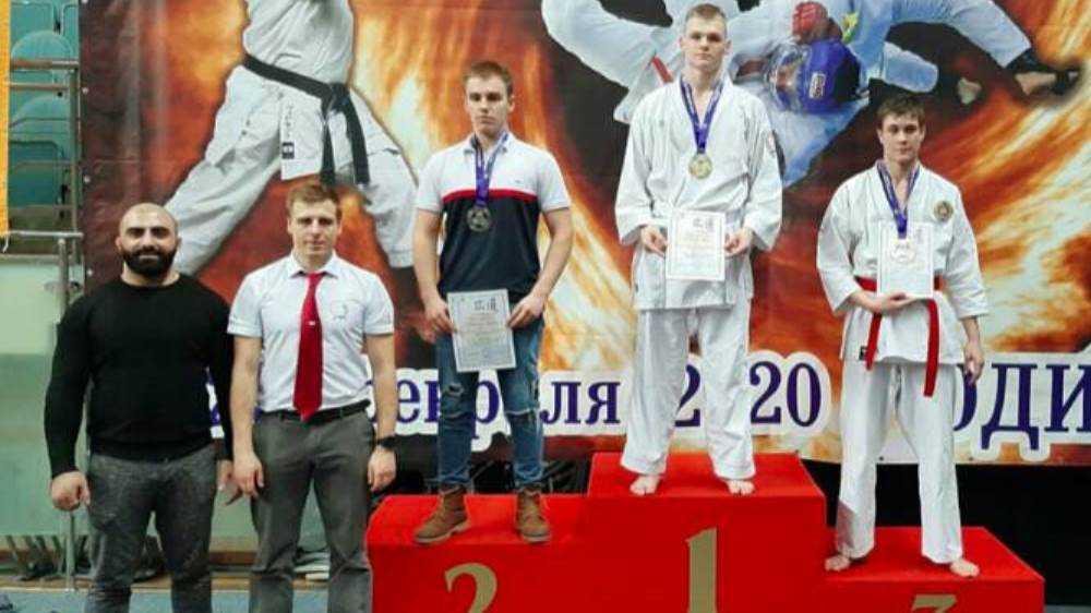 Брянские каратисты завоевали три золотые медали на Кубке Федерации