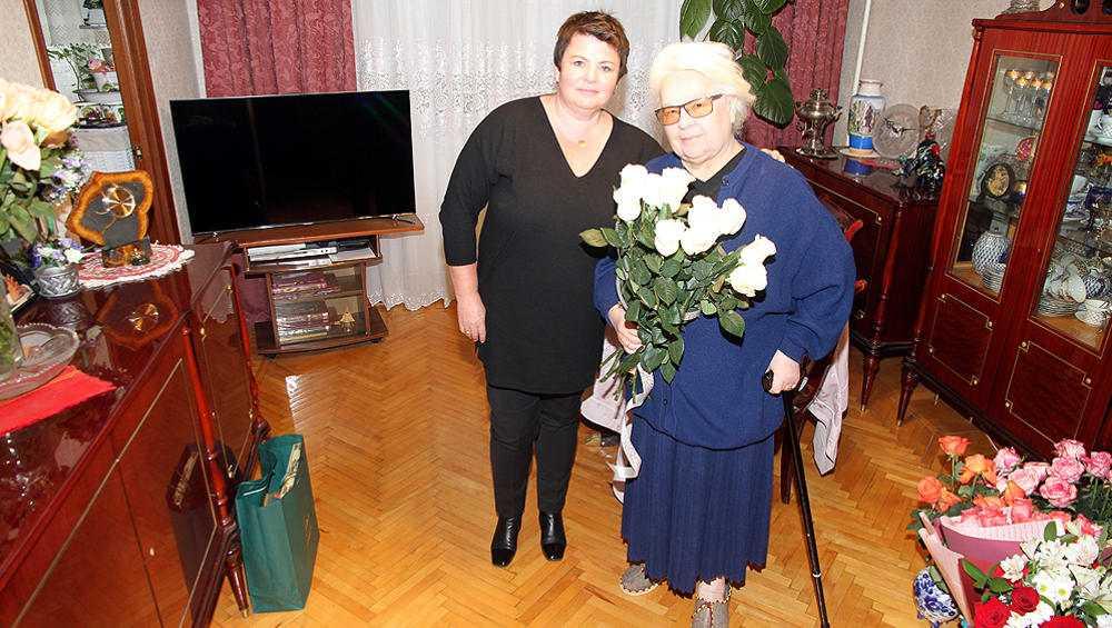 Основатель брянского лицея №1 Антонина Курасова отметила день рождения
