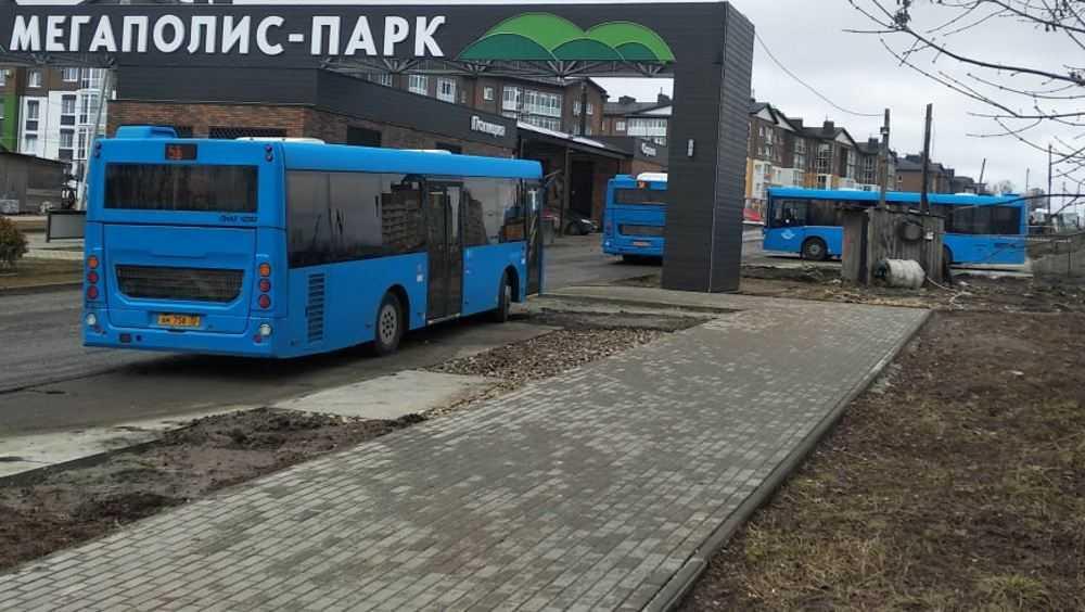 «Мегаполис–Парк» стал конечной остановкой автобуса кольцевого маршрута №5