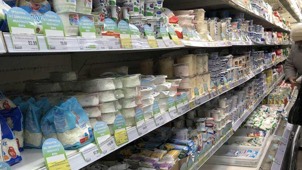 Брянские магазины завалили поддельными молоком и колбасой